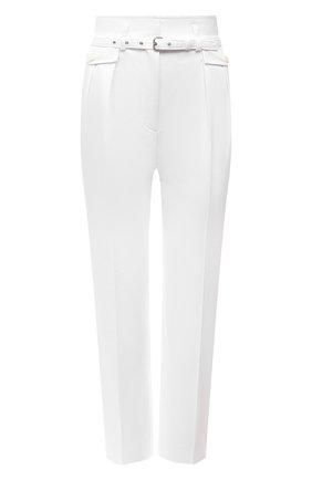 Женские хлопковые брюки REDVALENTINO белого цвета, арт. VR0RBE25/4YN   Фото 1