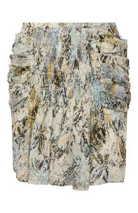 Женская хлопковая юбка IRO разноцветного цвета, арт. WM31KARINA | Фото 1