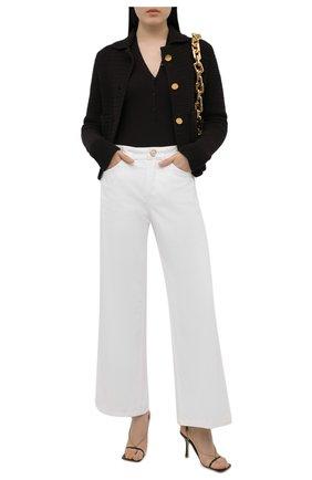 Женские джинсы LANVIN белого цвета, арт. RW-TR0024-D001-E21 | Фото 2