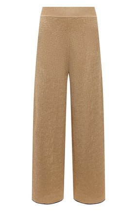 Женские брюки LANVIN золотого цвета, арт. RW-TR0005-K002-E21 | Фото 1