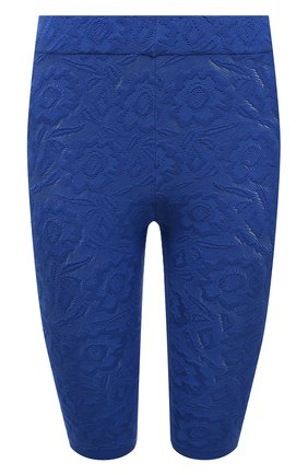 Женские хлопковые шорты KENZO синего цвета, арт. FB52SH5203RI | Фото 1