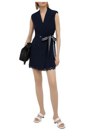 Женское платье ERMANNO FIRENZE темно-синего цвета, арт. D38ET AB37CRE | Фото 2