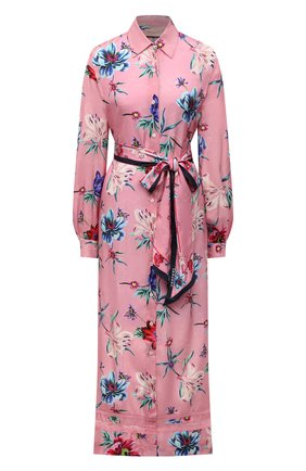 Женское платье из вискозы ERMANNO FIRENZE розового цвета, арт. D38ET AB38TFS | Фото 1