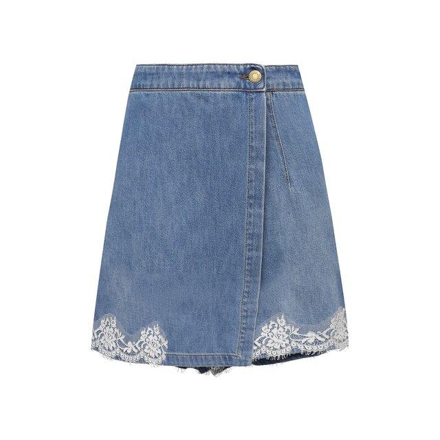 Джинсовая юбка-шорты Ermanno Firenze