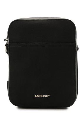 Мужская текстильная сумка AMBUSH черного цвета, арт. BMNQ002S21FAB001 | Фото 1