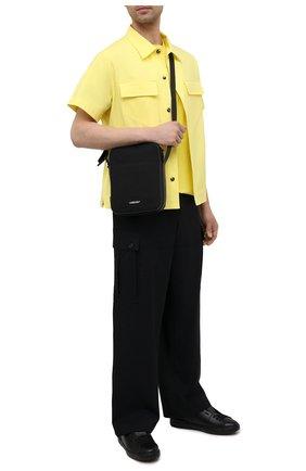 Мужская текстильная сумка AMBUSH черного цвета, арт. BMNQ002S21FAB001 | Фото 2