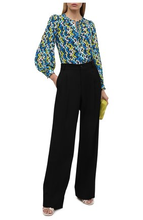 Женская блузка MICHAEL MICHAEL KORS голубого цвета, арт. MS140081LY | Фото 2