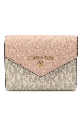 Женские портмоне MICHAEL MICHAEL KORS розового цвета, арт. 34S1GT9E6B | Фото 1