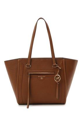 Женский сумка-тоут carine medium MICHAEL MICHAEL KORS коричневого цвета, арт. 30S1GCCT3L | Фото 1