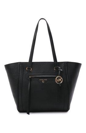 Женский сумка-тоут carine medium MICHAEL MICHAEL KORS черного цвета, арт. 30S1GCCT3L | Фото 1