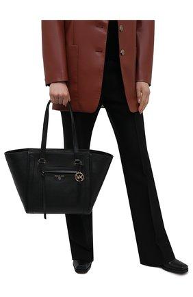 Женский сумка-тоут carine medium MICHAEL MICHAEL KORS черного цвета, арт. 30S1GCCT3L | Фото 2
