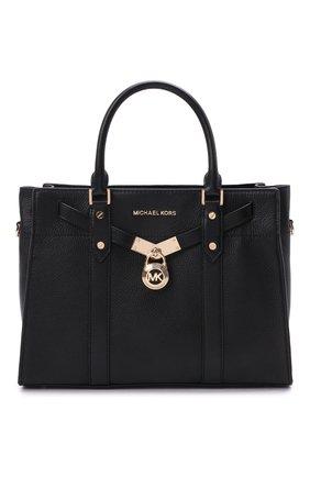 Женская сумка nouveau hamilton large MICHAEL MICHAEL KORS черного цвета, арт. 30F9G0HS3L | Фото 1