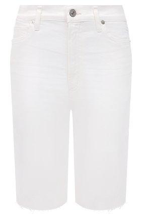 Женские джинсовые шорты CITIZENS OF HUMANITY белого цвета, арт. 1933-3001 | Фото 1