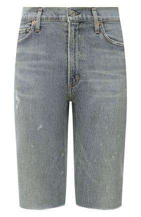 Женские джинсовые шорты CITIZENS OF HUMANITY голубого цвета, арт. 1933B-850 | Фото 1