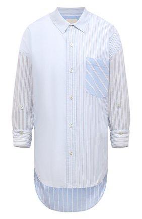 Женская хлопковая рубашка CITIZENS OF HUMANITY голубого цвета, арт. 9103B-1108 | Фото 1