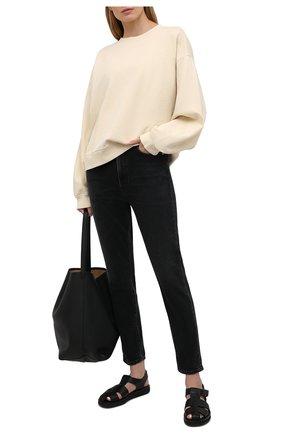 Женские джинсы AGOLDE темно-серого цвета, арт. A165-1274 | Фото 2