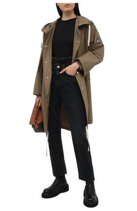 Женские джинсы AGOLDE темно-серого цвета, арт. A170-1157 | Фото 2