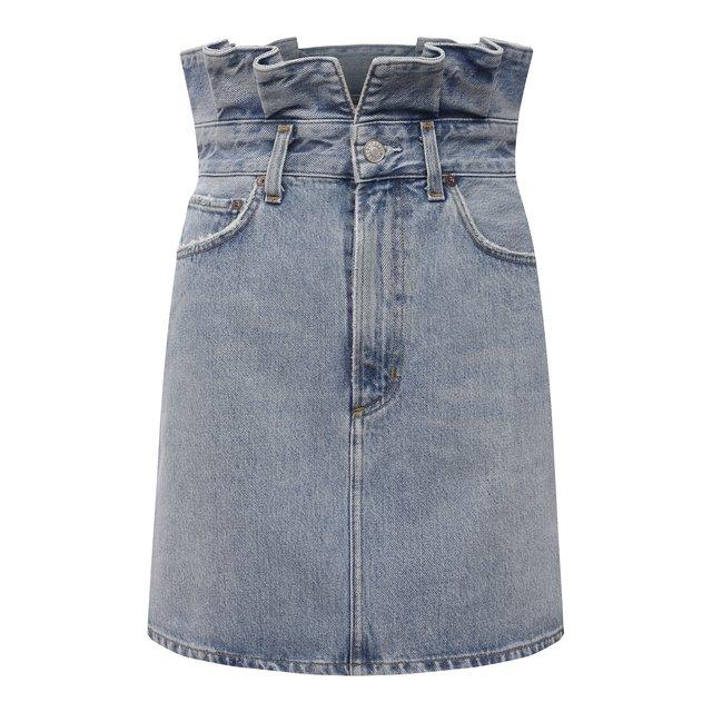 Джинсовая юбка Agolde