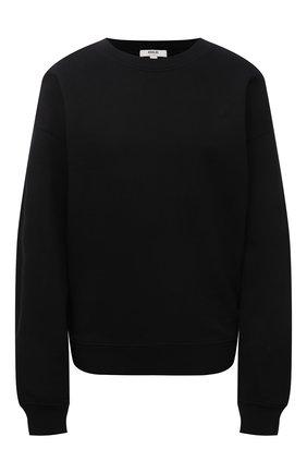 Женский хлопковый свитшот AGOLDE черного цвета, арт. A7074B | Фото 1