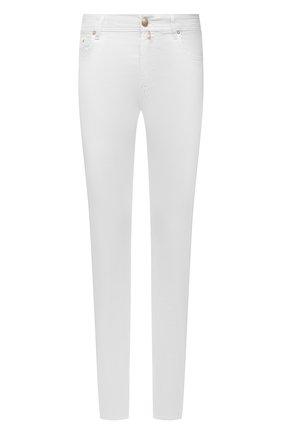Мужские джинсы JACOB COHEN белого цвета, арт. J688 C0MF 02323-W1/55   Фото 1