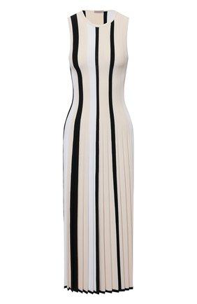 Женское платье из вискозы MRZ черно-белого цвета, арт. S21-0360 | Фото 1