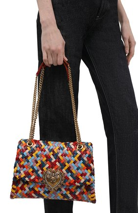 Женская сумка devotion DOLCE & GABBANA разноцветного цвета, арт. BB6728/A0324   Фото 2