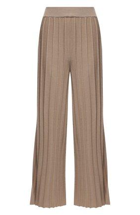 Женские шерстяные брюки THEORY бежевого цвета, арт. L0111718 | Фото 1