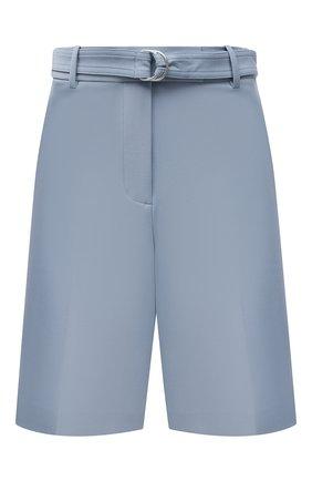 Женские шорты HELMUT LANG голубого цвета, арт. L01HW204 | Фото 1