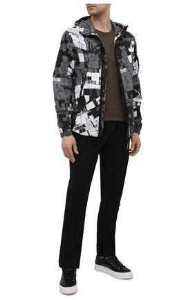 Мужская хлопковая куртка C.P. COMPANY серого цвета, арт. 10CM0W291A-006068G | Фото 2