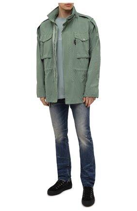 Мужские джинсы FEAR OF GOD синего цвета, арт. FG40-015HWD | Фото 2