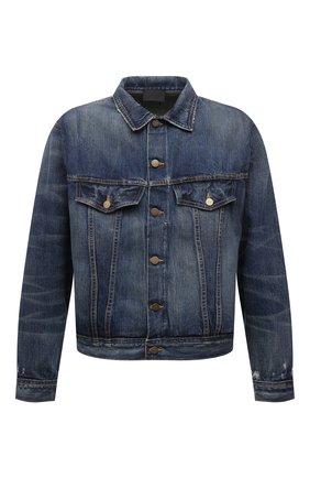 Мужская джинсовая куртка FEAR OF GOD синего цвета, арт. FG30-022HWD | Фото 1