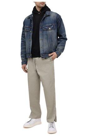 Мужская джинсовая куртка FEAR OF GOD синего цвета, арт. FG30-022HWD | Фото 2