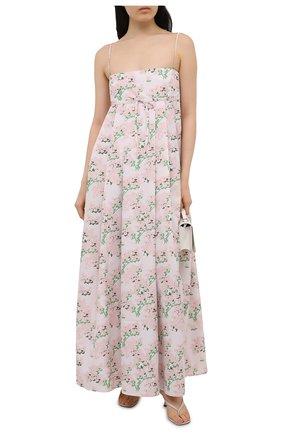 Женское платье BERNADETTE светло-розового цвета, арт. SS21-DRESS-JUL-TAF-1 | Фото 2