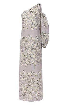 Женское хлопковое платье BERNADETTE серого цвета, арт. SS21-DRESS-LUC-CP0-1 | Фото 1