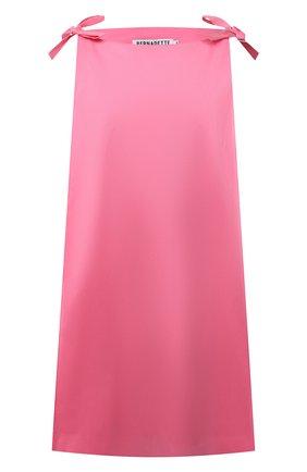 Женское платье BERNADETTE розового цвета, арт. SS21-SHDRESS-MA-TAF-2 | Фото 1 (Длина Ж (юбки, платья, шорты): Мини; Материал внешний: Синтетический материал; Материал подклада: Синтетический материал; Женское Кросс-КТ: Платье-одежда; Стили: Романтичный; Случай: Коктейльный; Рукава: Без рукавов)