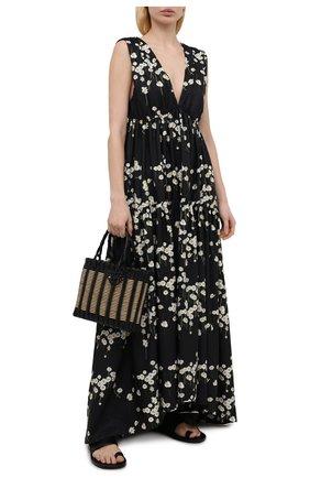 Женское платье BERNADETTE черно-белого цвета, арт. SS21-DRESS-MILLY-TAF-1 | Фото 2