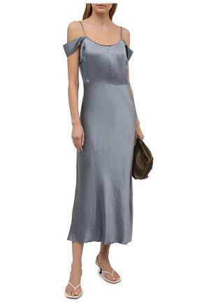 Женское платье VINCE серого цвета, арт. V739751368 | Фото 2