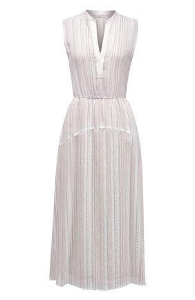 Женское платье из вискозы VINCE бежевого цвета, арт. V729751354   Фото 1