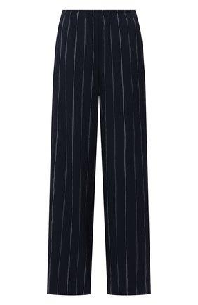 Женские брюки из вискозы VINCE темно-синего цвета, арт. V728121964 | Фото 1