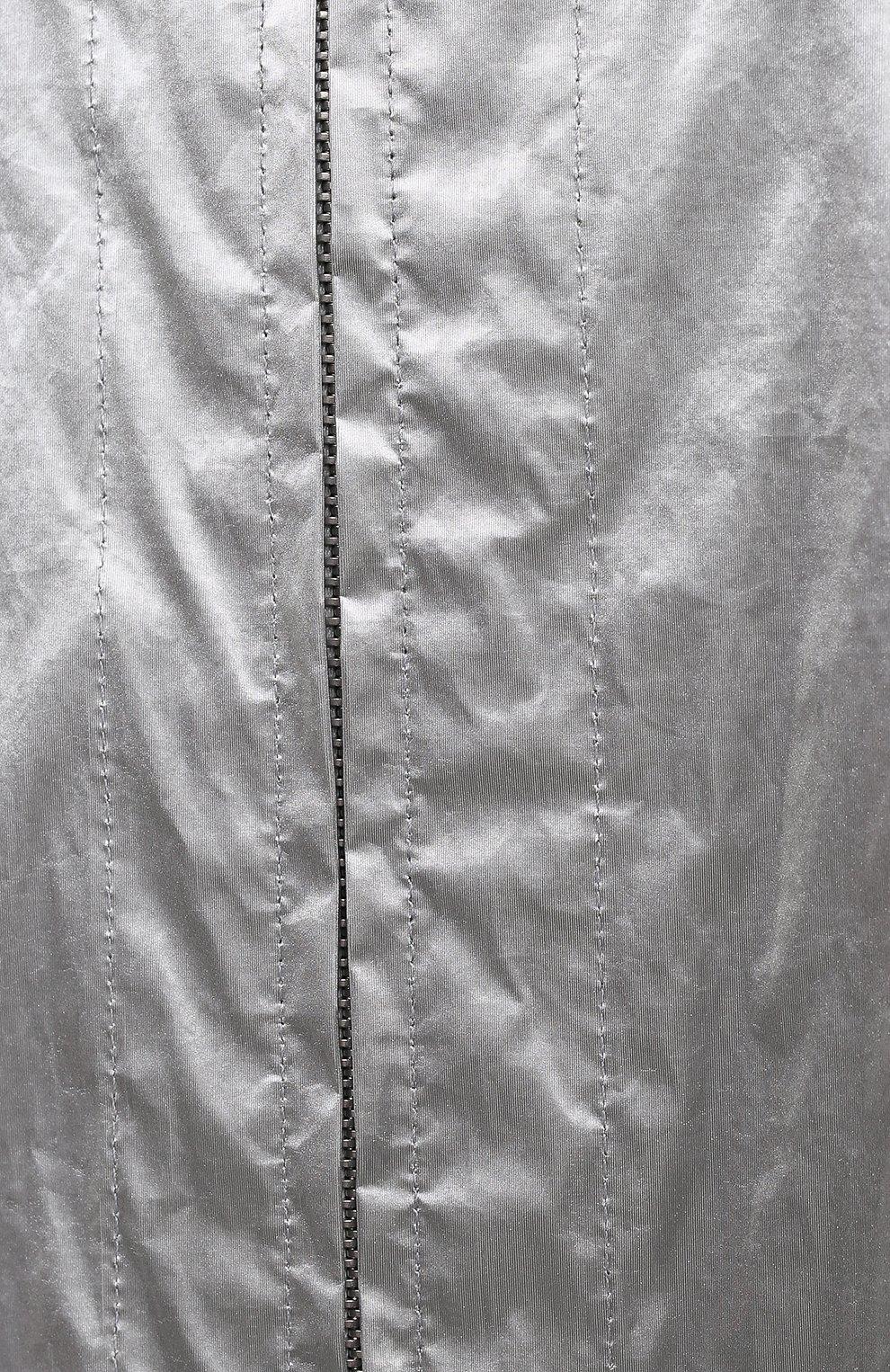 Женская парка DRIES VAN NOTEN серебряного цвета, арт. 211-10511-2158 | Фото 5