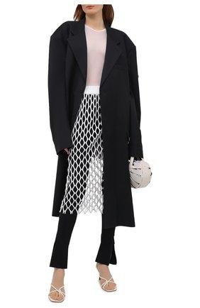 Женская юбка DRIES VAN NOTEN белого цвета, арт. 211-11160-2632 | Фото 2