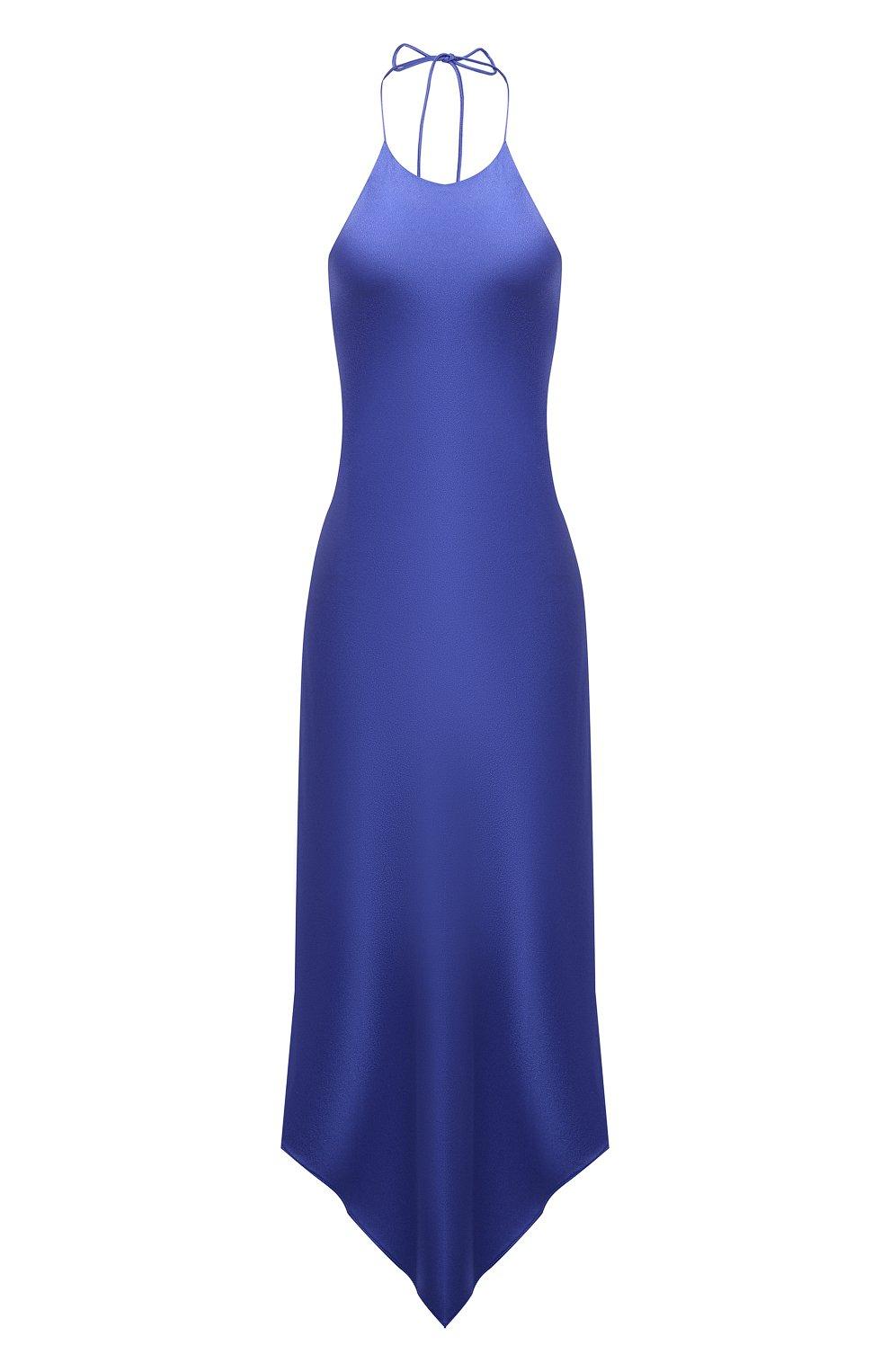 Женское платье ALICE + OLIVIA синего цвета, арт. CC103205515 | Фото 1
