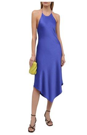 Женское платье ALICE + OLIVIA синего цвета, арт. CC103205515 | Фото 2