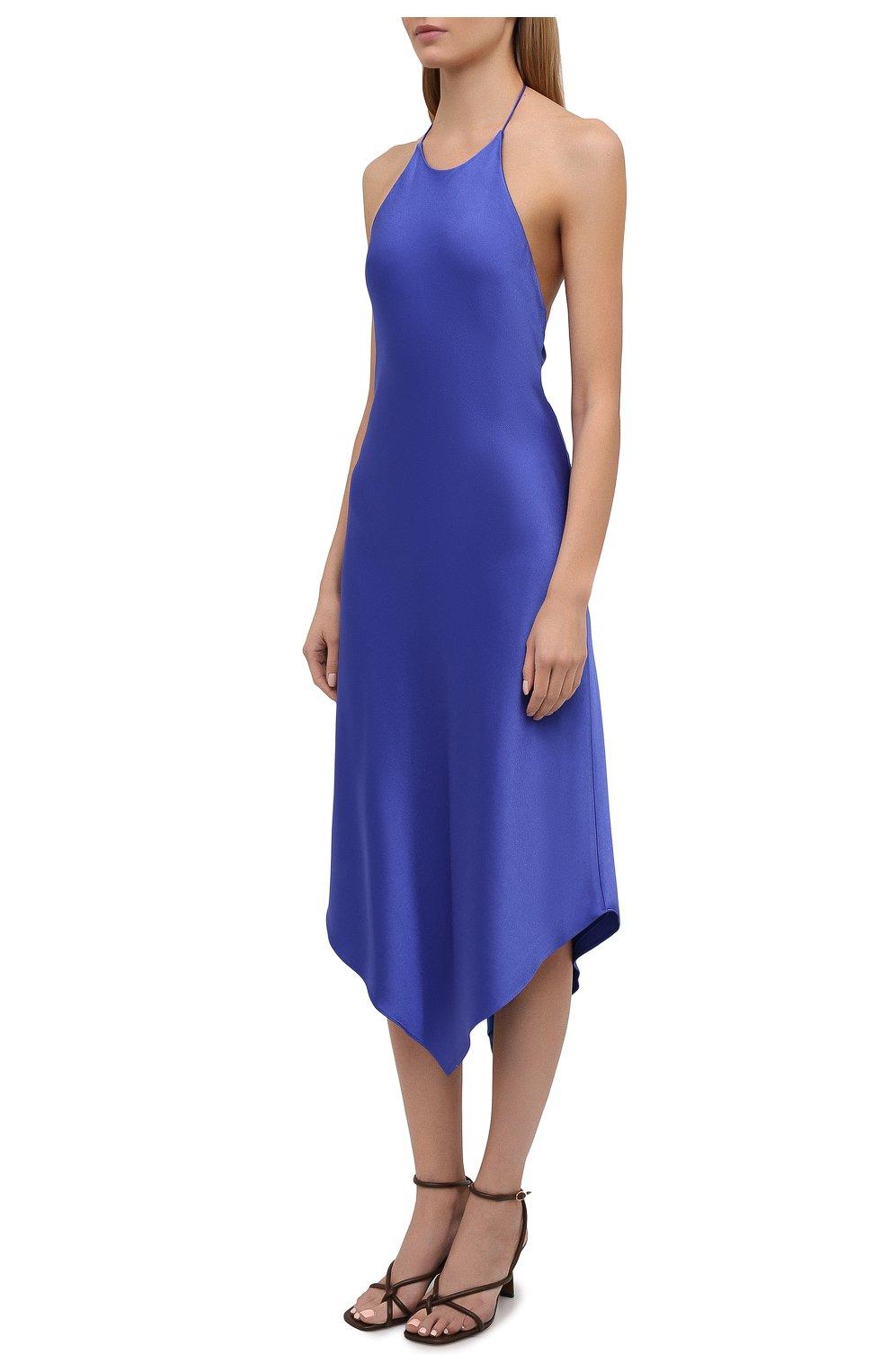 Женское платье ALICE + OLIVIA синего цвета, арт. CC103205515 | Фото 3