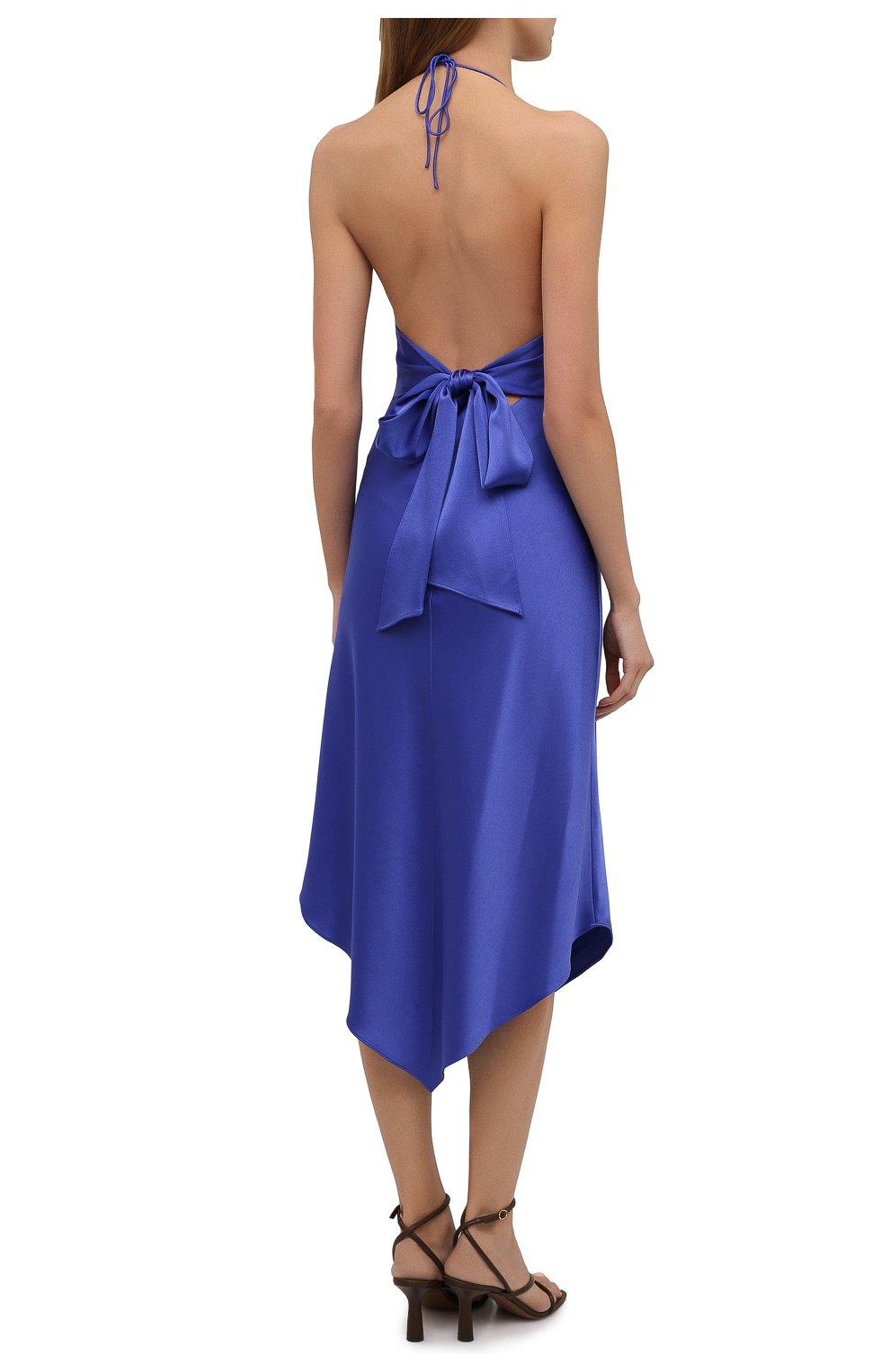 Женское платье ALICE + OLIVIA синего цвета, арт. CC103205515 | Фото 4