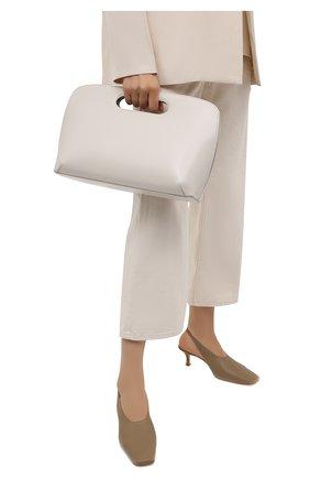 Женская сумка GIORGIO ARMANI белого цвета, арт. Y1A236/YTF4A   Фото 2