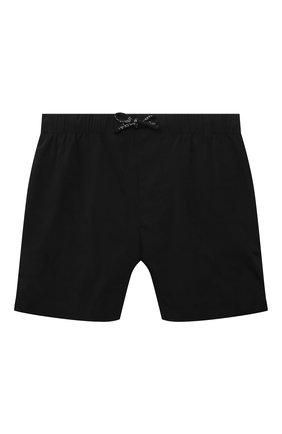 Детские плавки-шорты DOLCE & GABBANA черного цвета, арт. L4J818/G7YHP/2-6   Фото 1