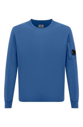 Мужской хлопковый свитшот C.P. COMPANY синего цвета, арт. 10CMSS043A-002246G | Фото 1