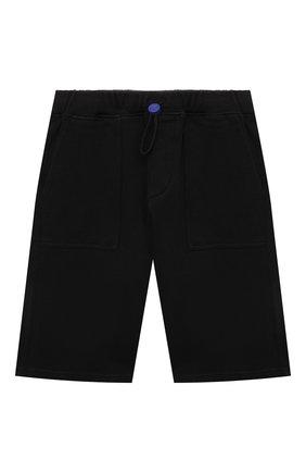 Детские хлопковые шорты JACOB COHEN черного цвета, арт. P1319 J-86002-L   Фото 1