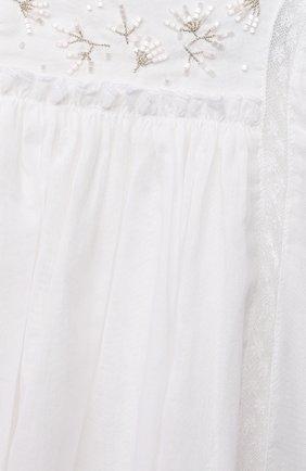 Женский хлопковое платье TARTINE ET CHOCOLAT белого цвета, арт. TS30081/1M-1A | Фото 3